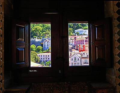 Photograph - View From Window In Sintra - Portugal by Madeline Ellis