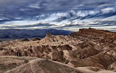 Photograph - View From Zabriskie Point  by Cheryl Strahl