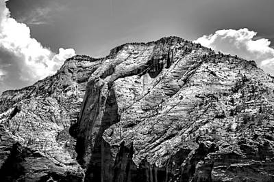 Photograph - View From Zion by Robert Meyers-Lussier