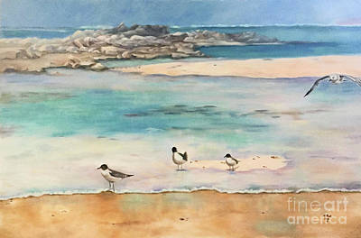 Painting - View In Aruba by Marlene Book