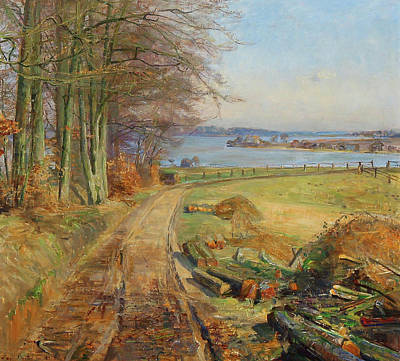 Painting - View In Denmark by Mountain Dreams