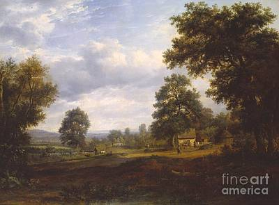 Patrick Painting - View In The New Forest Near  by MotionAge Designs