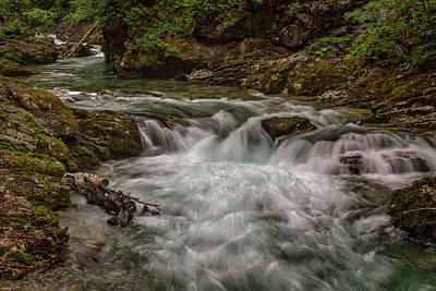 Photograph - View In Vintgar Gorge #2 - Slovenia by Stuart Litoff