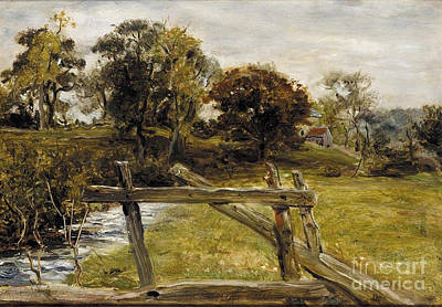 Hampstead Painting - View Near Hampstead by MotionAge Designs