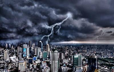 Photograph - The Thunder Rolls by Michael Damiani