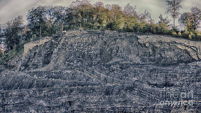 Photograph - View Of A Quarry by Eva-Maria Di Bella