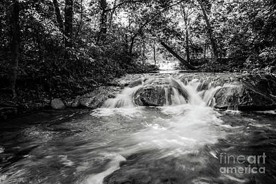 Photograph - View Of A Waterfall by Iris Greenwell