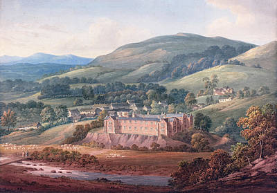 Painting - View Of An Estate by John William Upham