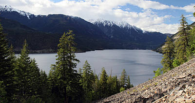 Photograph - View Of Anderson Lake by Pierre Leclerc Photography