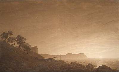 Painting - View Of Arkona by Caspar David Friedrich