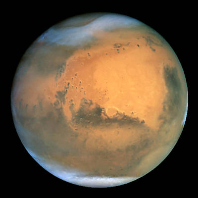 Painting - View Of Barsoom, Or Mars by Hubble Space Telescope