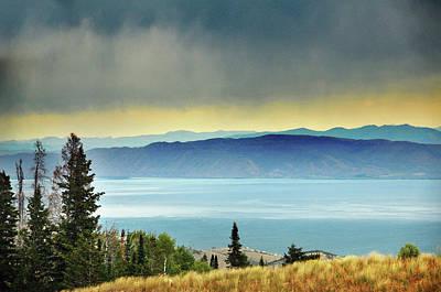 Tranquil Scene Photograph - View Of Bear Lake by Utah-based Photographer Ryan Houston