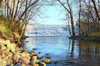 Photograph - View Of Beeds Dam by Bonfire Photography