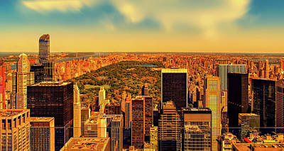 Photograph - View Of Central Park by Pixabay