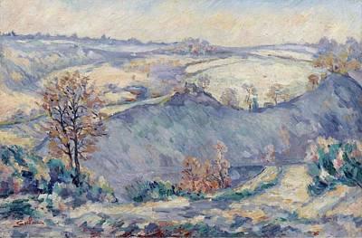 View Of Charraud Bridge Art Print