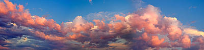 View Of Clouds In The Sky Print by Panoramic Images