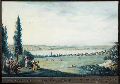 Late 18th Century Painting - View Of Constantinople by Luigi Mayer