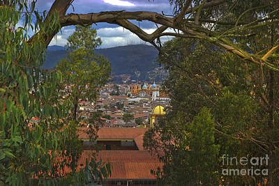 Immaculate Photograph - View Of Cuenca From The North Hill II by Al Bourassa