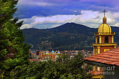Immaculate Photograph - View Of Cuenca From The North Hill IIi by Al Bourassa