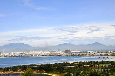 Photograph - View Of Da Nang 2 by Andrew Dinh
