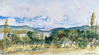Painting - View Of D'entrecasteaux Channel From Birchs Bay, Tasmania by Dorothy Darden