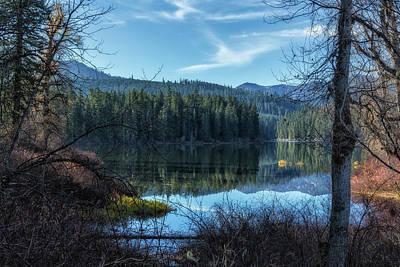 Photograph - View Of Fish Lake by Belinda Greb