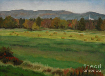 View Of Gatineau Hills Art Print by Catherine Copp