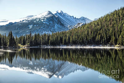 Photograph - View Of Glacier Gorge by Lynn Sprowl