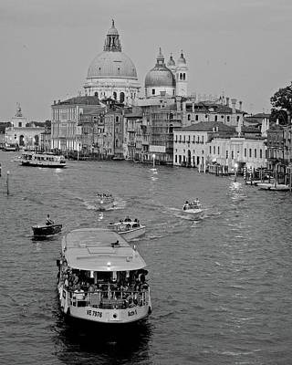 Photograph - View Of Grand Canal by Matt MacMillan