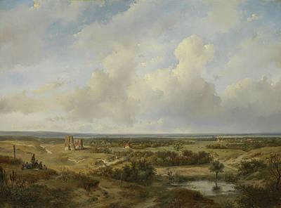 View Of Haarlem Art Print