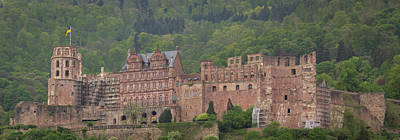Photograph - View Of Heidelberg Castle From Old Bridge by Teresa Mucha
