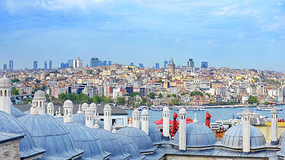Photograph - View Of Istanbul by Fabrizio Troiani