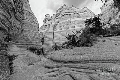 Photograph - View Of Kasha Katuwe Tent Rocks Slot Canyon - Jemez Mountains New Mexico by Silvio Ligutti