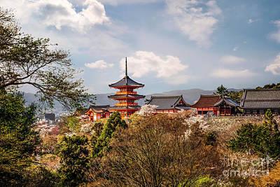 Photograph - View Of Kiyomizudera Temple In Kyoto by Karen Jorstad