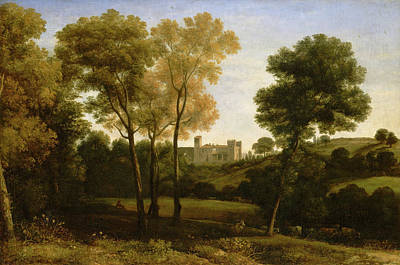 Agriculture Painting - View Of La Crescenza by Claude Lorrain