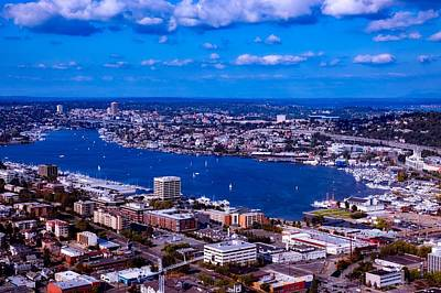Photograph - View Of Lake Union - Seattle by L O C