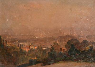 Spaniards Painting - View Of London by James Herbert