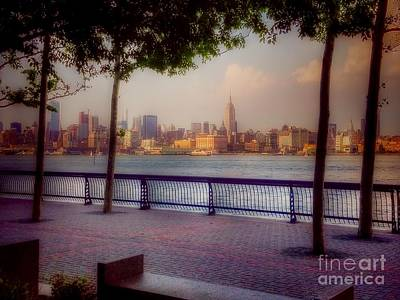 Photograph - View Of Manhattan From Hoboken by Miriam Danar