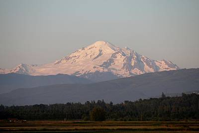 Photograph - View Of Mt. Baker - 4 by Christy Pooschke