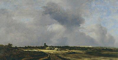 Painting - View Of Naarden by Jacob van Ruisdael