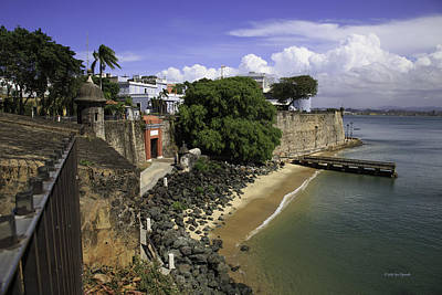 Photograph - View Of Old San Juan by Jose Oquendo