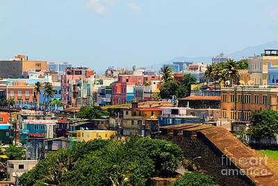 Photograph - View Of Old San Juan by Steven Spak