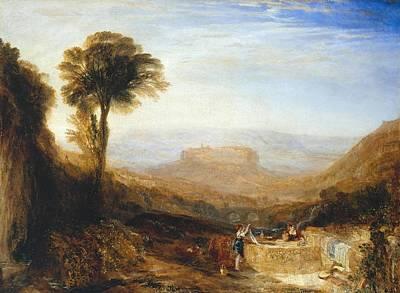 Orvieto Painting - View Of Orvieto by Joseph Mallord