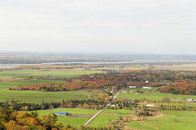 Comedian Drawings - View of Ottawa Valley in Autumn 29 by Bob Corson