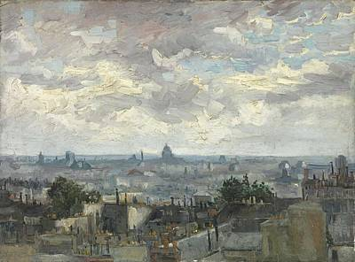 Painting - View Of Paris 2 by Artistic Panda