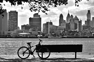 Philadelphia Wall Art - Photograph - View Of Philadelphia  by Andrew Dinh