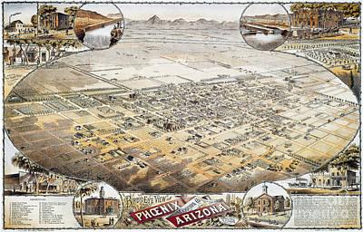 Photograph - View Of Phoenix, Arizona by Granger