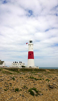 Photograph - View Of Portland Bill Lighthouse by Gillian Dernie