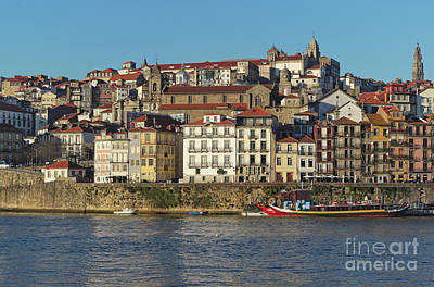 Photograph - View Of Porto And Douro River by Angelo DeVal