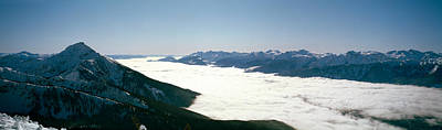 Cold Temperature Photograph - View Of Revelstoke Mountain Resort by Panoramic Images